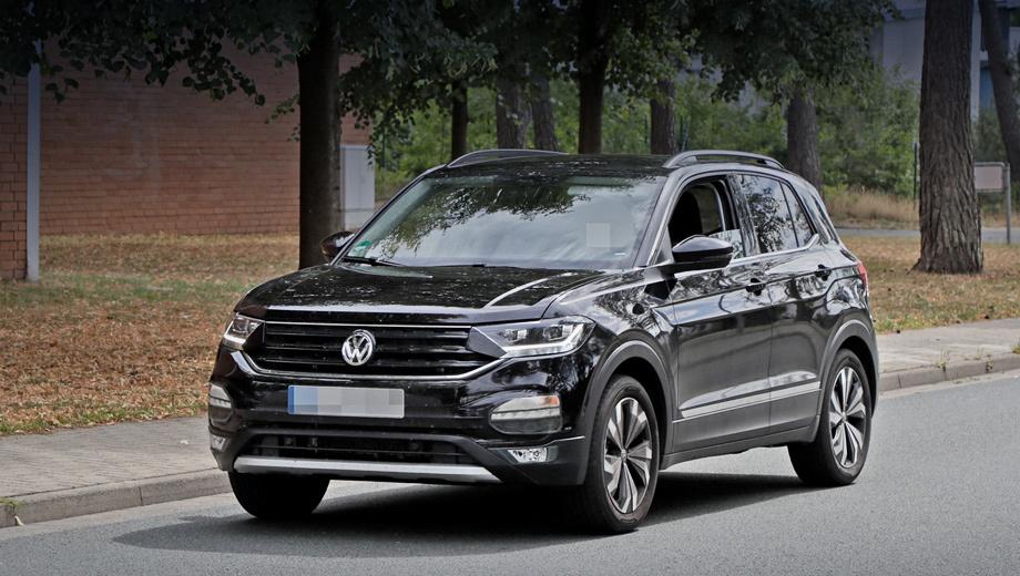 Пятидверка Volkswagen T-Cross внешне получилась скромной