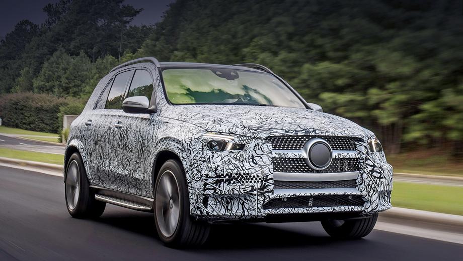 Mercedes gle. На Mercedes GLE будут ставить не только бензиновые турбомоторы I6 3.0 и V8 4.0, но и несколько турбодизелей объёмом два и три литра, мощностью 245, 286 и 340 л.с. По умолчанию все модификации получат полный привод и девятидиапазонный «автомат».
