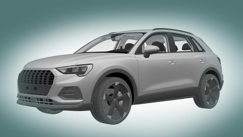Audi q3,Audi sq3,Audi rs q3. Самое заметное отличие этой версии от базовой — оформление боковых воздухозаборников и всей нижней половины бампера. И, конечно, тут другие колёсные диски.