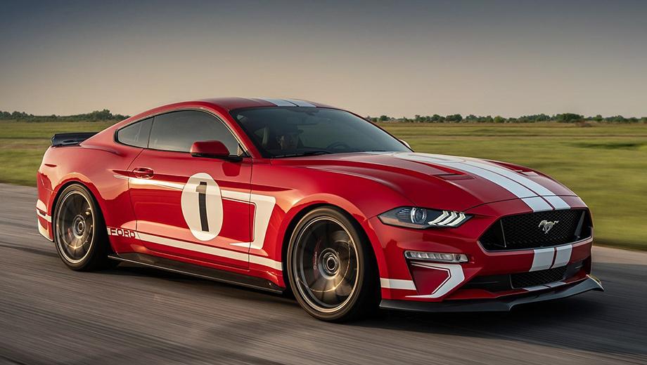 Hennessey выпустит 19 экземпляров 808-сильных Форд Mustang