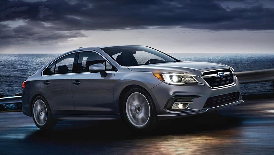 Subaru legacy. С 2015-го по 2017-й включительно в США куплено 175 590 седанов Subaru Legacy. При этом за один только прошлый год родственный Subaru Outback разошёлся тиражом 188 886 машин, а Toyota Camry и Honda Accord ― 387 081 и 322 655 штук соответственно.
