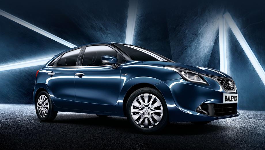 Toyota baleno,Suzuki baleno. В Индии модель продаётся как Maruti Suzuki Baleno, которая выпускается локально сразу на двух предприятиях: в Манесаре (штат Харьяна) и в Хансалпуре (штат Гуджарат).
