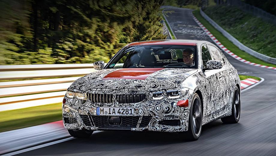 Bmw 3. Мировая премьера BMW третьей серии G20 пройдёт на Парижском автосалоне в октябре 2018-го. Продажи в Европе стартуют в самом начале следующего года, а в Соединённых Штатах ― весной 2019-го. В гамме ожидаются седаны и универсалы с двумя типами коробок передач и привода.