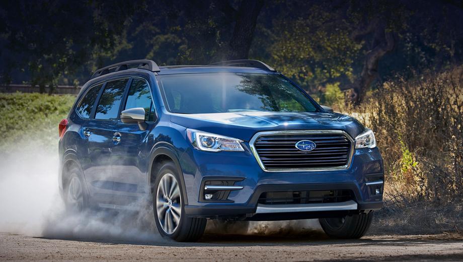 Subaru ascent,Subaru ascent touring. Продажи модели Ascent начались в июне, за два месяца продано 6486 машин, из которых на июль пришлось 4589. Вообще, прошлый месяц стал самым успешным июлем в американской истории Subaru ― 59 426 штук. Наиболее популярная модель ― Outback (16 113 автомобилей).