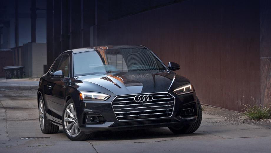 Audi a5,Audi a4. Купе Audi A5 «на ручке» предлагается во всех трёх комплектациях по ценам от $42 800 до $50 400 (2,9–3,4 млн рублей). Как ни странно, версии с семидиапазонным «роботом» S tronic стоят ровно столько же.