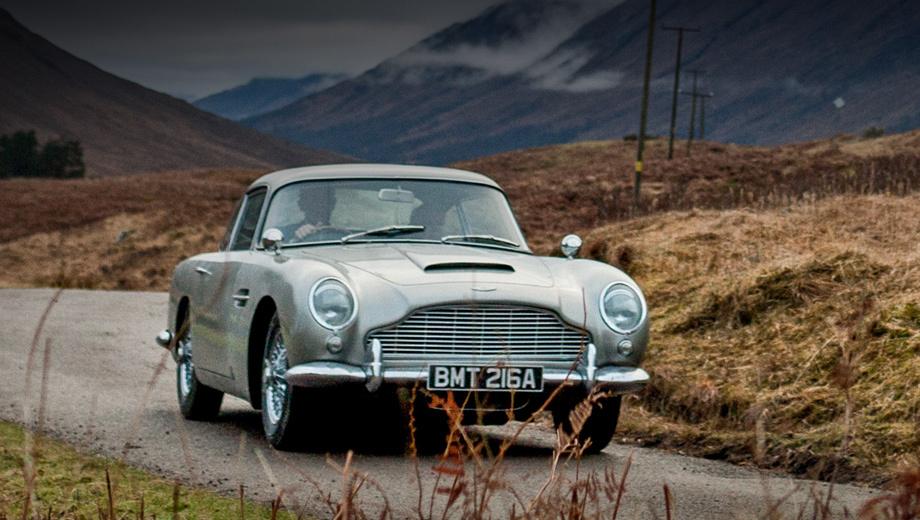 Купе Aston Martin DB5 вернётся к жизни в виде спецсерии