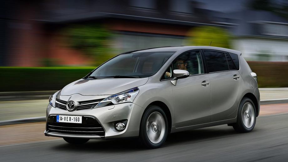 Toyota verso. В нашей стране Verso третьего поколения предлагался с бензиновыми «атмосферниками» 1.6 (132 л.с., 160 Н•м) и 1.8 (147 л.с., 180 Н•м), шестиступенчатой «механикой» и вариатором. За всё время пребывания компактвэн нашёл в России больше 15 000 хозяев.