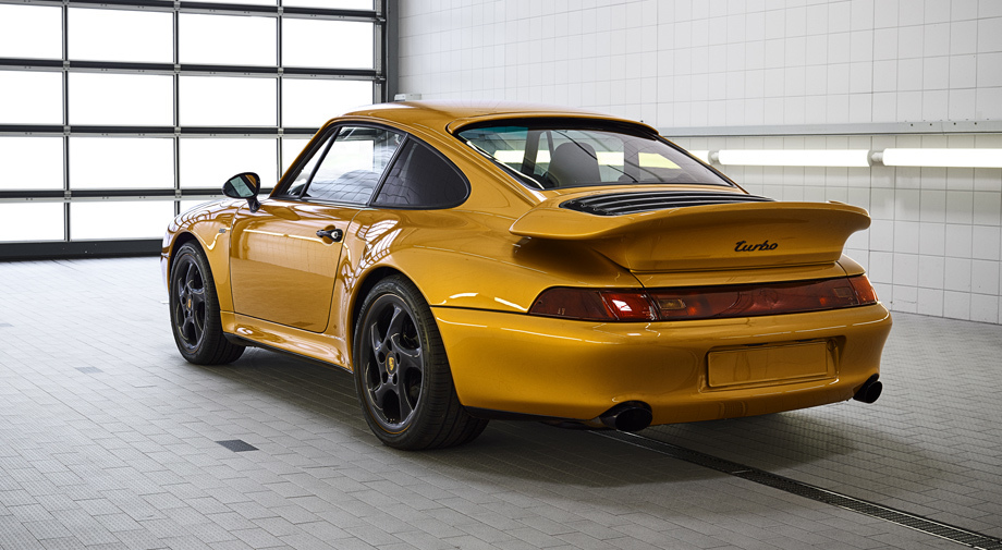 Порше сделал 450-сильный спорткар Project Gold