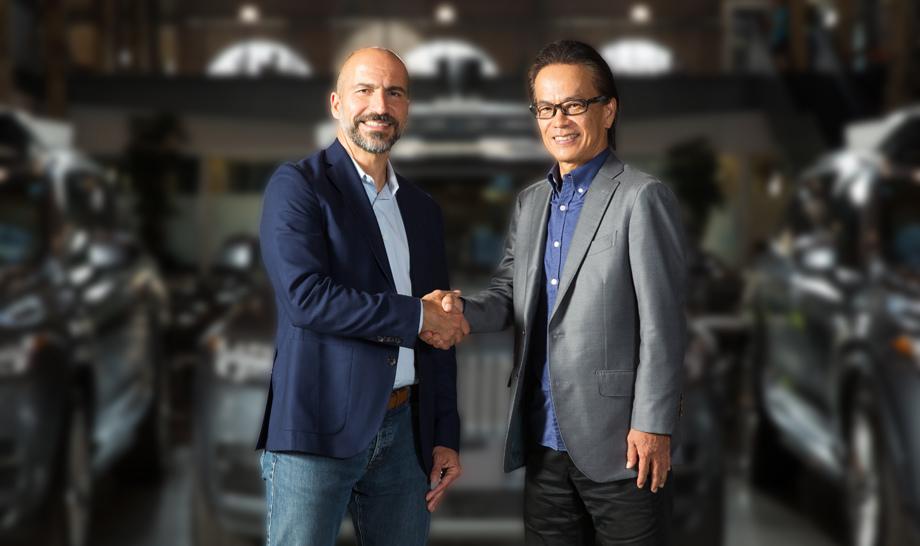 Тоёта инвестирует вUber 500 млн долларов