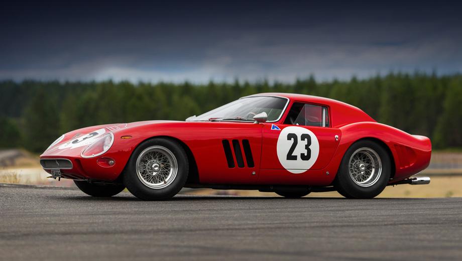 Ferrari 250 gto. Поразительно, что все 36 Ferrari 250 GTO сохранились до наших дней, ведь у гоночных машин шанс выживания невелик. Хозяину подобного автомобиля открыт любой конкурс элегантности или гонка классических автомобилей.