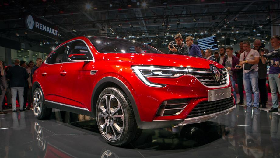 Renault arkana. Паркетник будет выпускаться на московском заводе Renault вместе с новым Дастером, и унификация между этими двумя неизбежна. Ну а Renault Kaptur и текущий Duster тут, можно сказать, ни при чём.