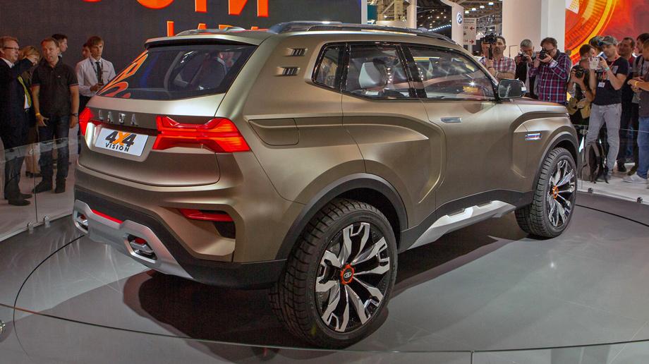 Nová Lada 4x4 Vision: Drsná konkurencia Land Roveru s krásnym dizajnom!
