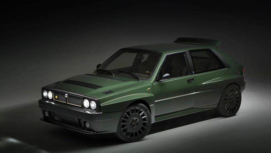Lancia delta,Lancia delta futurista. За основу фирма берёт оригинальный хэтч Lancia Delta Integrale, который производился в конце 1980-х — начале 1990-х годов. (Такую машину нетрудно найти за сравнительно небольшие деньги.) А потом заменяет больше 1000 всевозможных компонентов. От исходной Лянчи очень мало что остаётся.