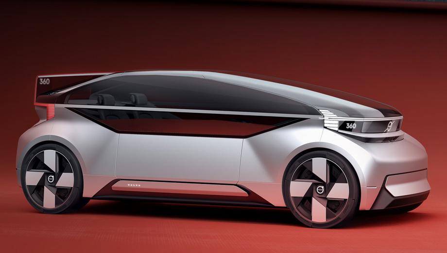 Volvo 360c. Ни размеров машины, ни мощности силовой установки Volvo не сообщает. Впрочем, кому могут быть интересны габариты и мотор вызванного наобум такси?