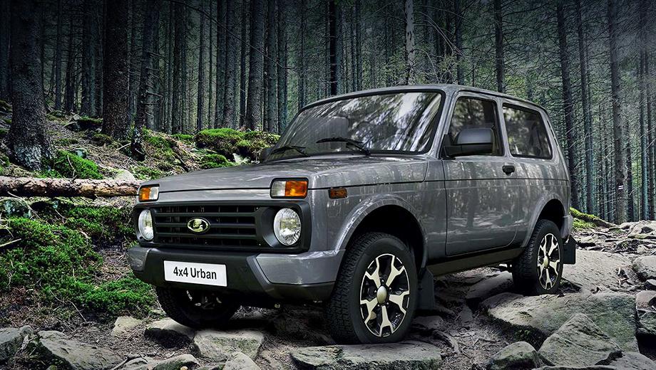 Lada 4x4. Исполнение Urban (от 566 900 рублей, +30 000 к дореформенной машине) получило опциональные двухцветные (чёрный с серебряным) колёсные диски «Гризли».
