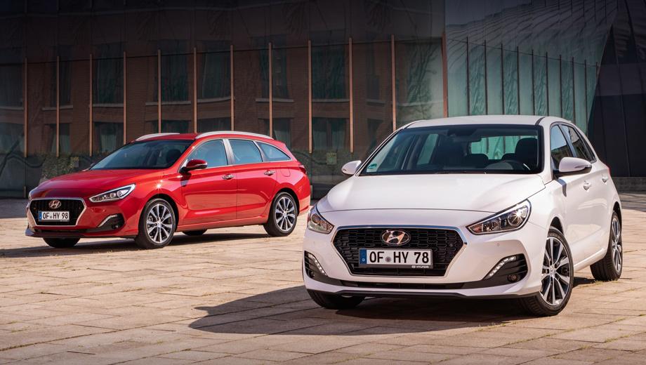 Hyundai i30. В Европе хэтч i30 стоит от 14 990 евро, «вагон» — 15 990, а фастбек — 18 490. То есть за 1,2–1,5 млн рублей предлагается машина с турбомотором 1.0 T-GDI (120 л.с.) «на ручке». Была попытка продавать Hyundai i30 в России, но он не прижился из-за дороговизны.