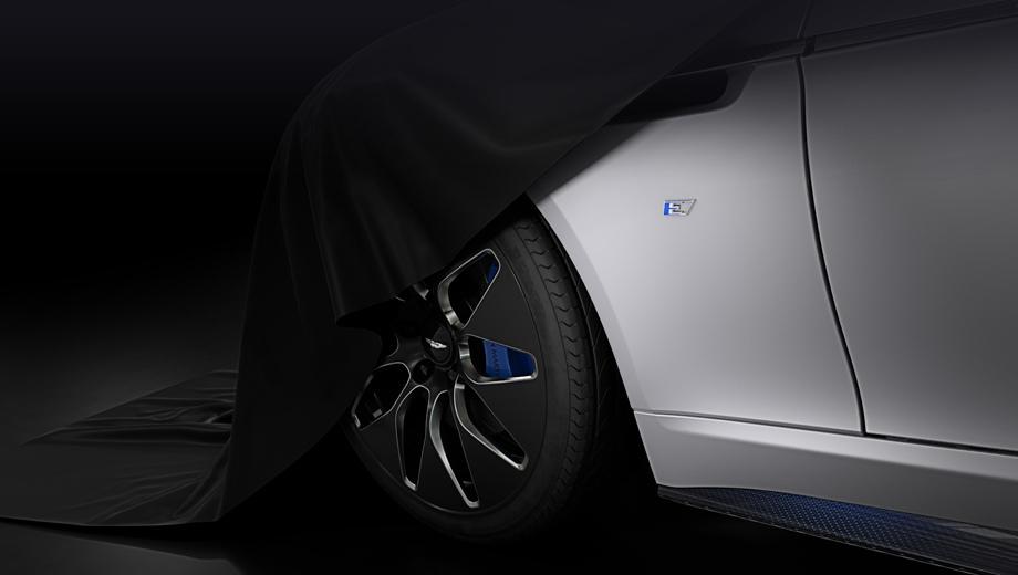 Astonmartin rapide,Astonmartin rapide e. Аэродинамически оптимизированные колёсные диски оснащены шинами Pirelli P-Zero с низким сопротивлением качению и шумопоглощающей пеной.