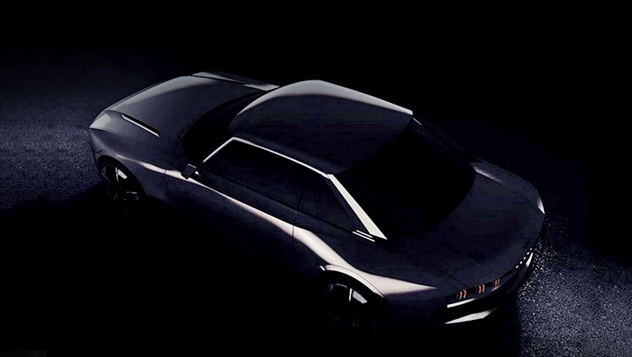 Peugeot concept. Дразнилки распространяются с хэштегом #UnboringTheFuture, обещающим нескучное будущее. Видимо, «радикализм» двухдверки проявляется в профиле с рублеными стойками в ретростиле купе Peugeot 504. О нём же напоминает воздухозаборник в основании лобового стекла.