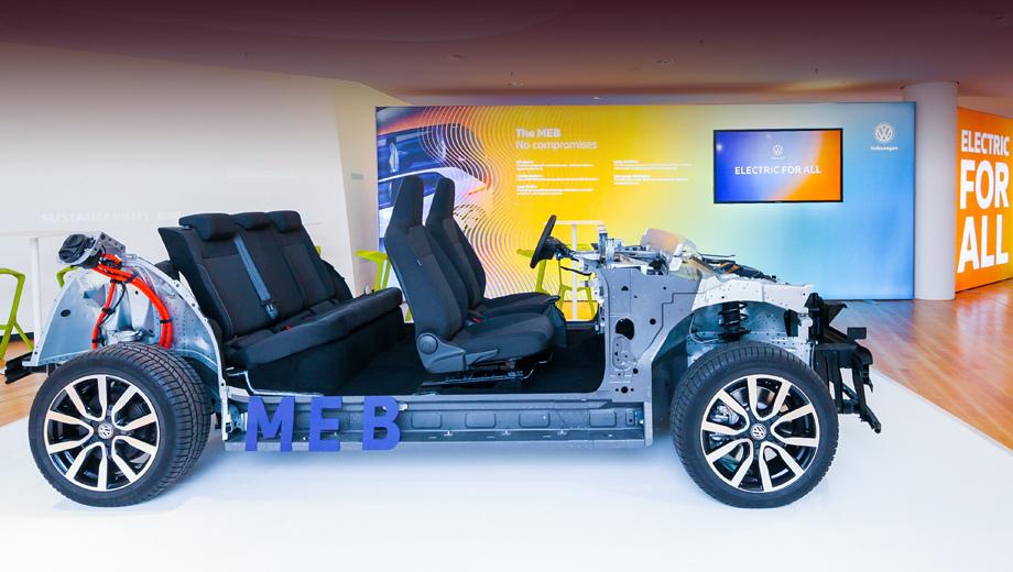 Новые электромобили Фольксваген будут заряжаться до80% заполчаса