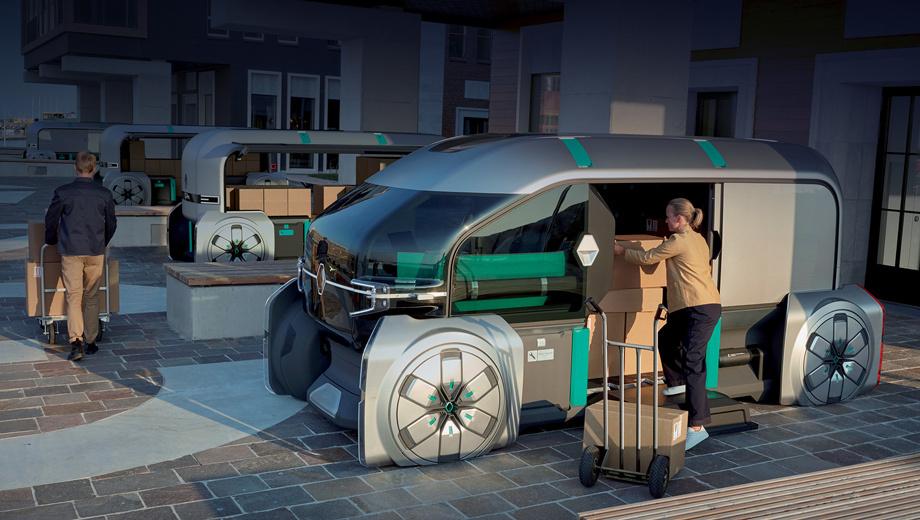 Renault ez-pro. Реношники говорят, что уже почти 120 лет занимаются лёгкими коммерческими автомобилями (LCV), завоевав на этом поприще лидирующие позиции. «Основываясь на большом опыте в комтрансе, Renault ставит людей в центр своих решений», — подчеркнул шеф-дизайнер Лоренс ван ден Акер.