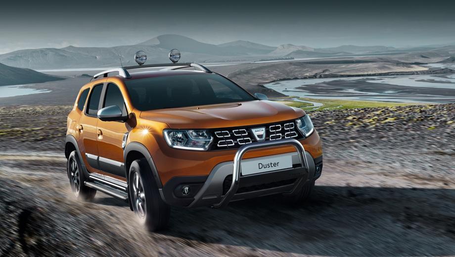 Dacia duster. Со второй версией агрегата 1.3 Duster стал самой мощной моделью в линейки Dacia. В России пока продаётся Renault Duster прошлого поколения, и неплохо: 27 863 штуки за восемь месяцев. Новый Duster обрёл в Европе 62 900 владельцев за первое полугодие. Надеемся на смену генерации у нас в 2019-м.