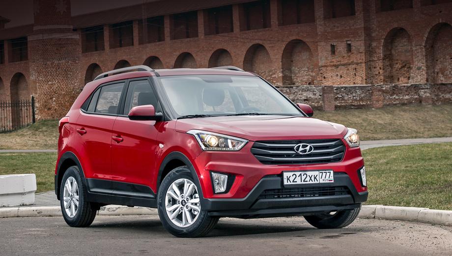 кроссовер Hyundai Creta впервые попал под отзыв вРоссии