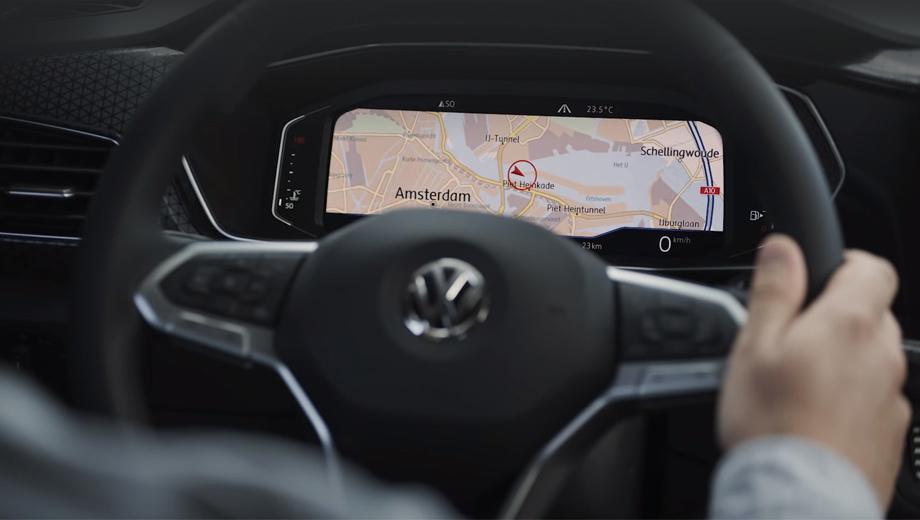 Volkswagen t-cross. Перед нами один из последних официальных тизеров. Этот кусочек пазла подан под девизом I am intuitive. Впрочем, об интерфейсе мультимедийного комплекса и приборки уже можно судить по другим компактным Фольксвагенам.
