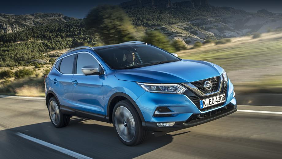 Nissan qashqai. Средний расход Кашкая с «механикой» и 17-дюймовыми дисками теперь равен 5,3 л/100 км, а с «роботом» — 5,5. Все новые версии укладываются по выбросам в стандарт Euro 6d-Temp.