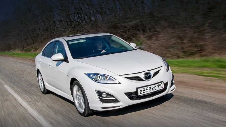 Mazda 6. В прошлом году сервисная акция из-за дефектных эйрбэгов накрыла 12 301 «шестёрку». В 2018-м вместе с нынешним отзывом получается 28 981 машина.