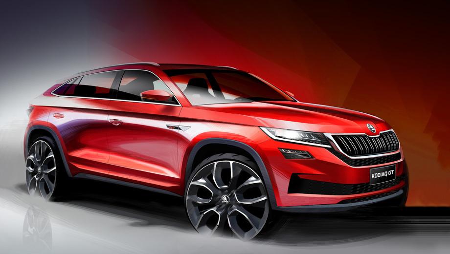 Skoda kodiaq,Skoda kodiaq gt. Каждый четвёртый автомобиль Шкоды продаётся в Китае, ставшем для бренда крупнейшим в мире рынком. План «Стратегия–2025» предписывает укрепление позиций в КНР путём SUV-наступления.