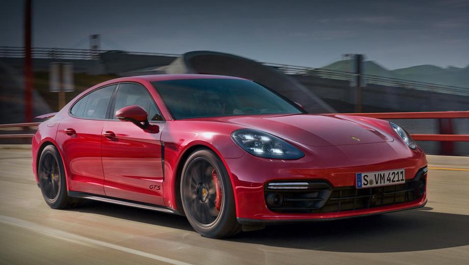 сёстры Porsche Panamera GTS иGTS Sport Turismo пришли вРоссию
