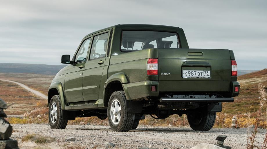 В Российской Федерации стартовали продажи улучшенного УАЗ «Пикап»