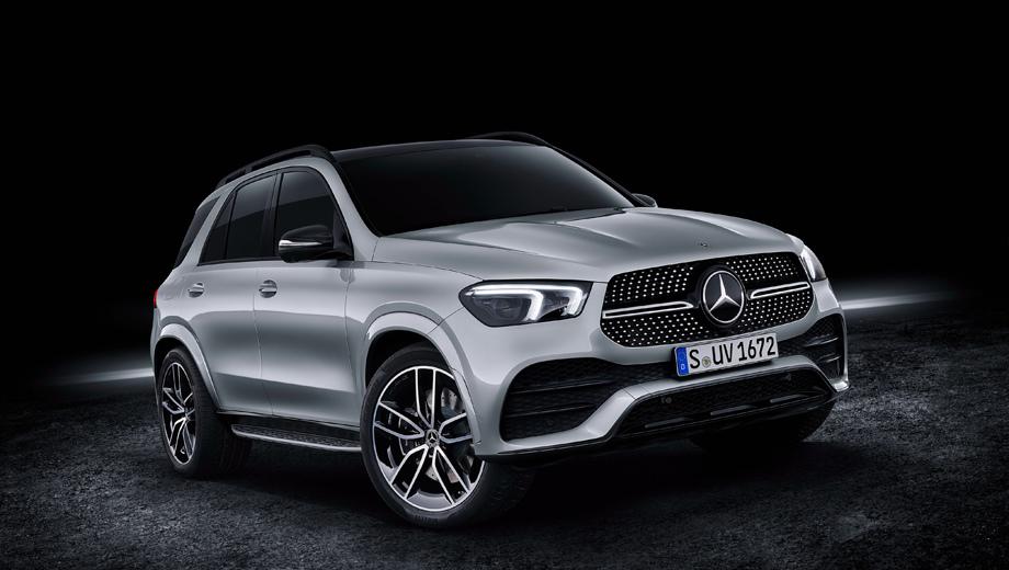 Mercedes gle. Новый GLE на момент своей премьеры в сентябре был представлен только в одной версии (GLE 450 4Matic) с рядной «шестёркой» 3.0 (367 л.с., 500 Н•м), 48-вольтовым 22-сильным мотором-генератором EQ Boost и «автоматом» 9G-Tronic. Разумеется, на этом ассортимент исчерпан не будет.