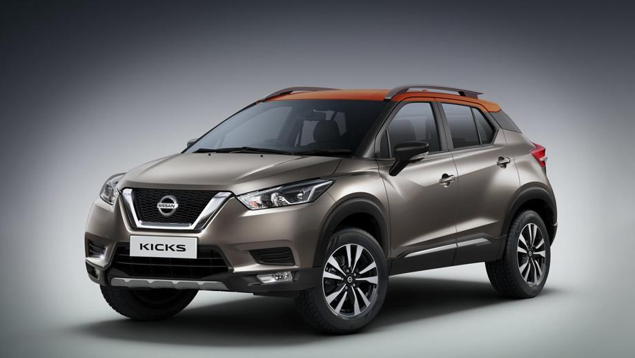 Nissan kicks. Как ни странно, во внешности машины, которая в ряде стран выпускается с 2016 года, индийцы ничего не поменяли. Немного отличаются только бамперы. А ведь рестайлинг не за горами...
