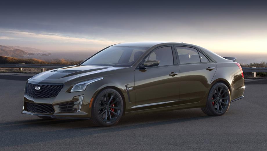 Cadillac ats-v,Cadillac cts-v,Cadillac cts,Cadillac ats. Нынешний седан CTS-V оснащён компрессорной «восьмёркой» 6.2 с отдачей 649 л.с. и 854 Н•м, разгоняющей его с места до 60 миль/ч за 3,7 с. Машина из спецсерии технически не отличается: тут просто особое оформление, плюс расширенный список оборудования.