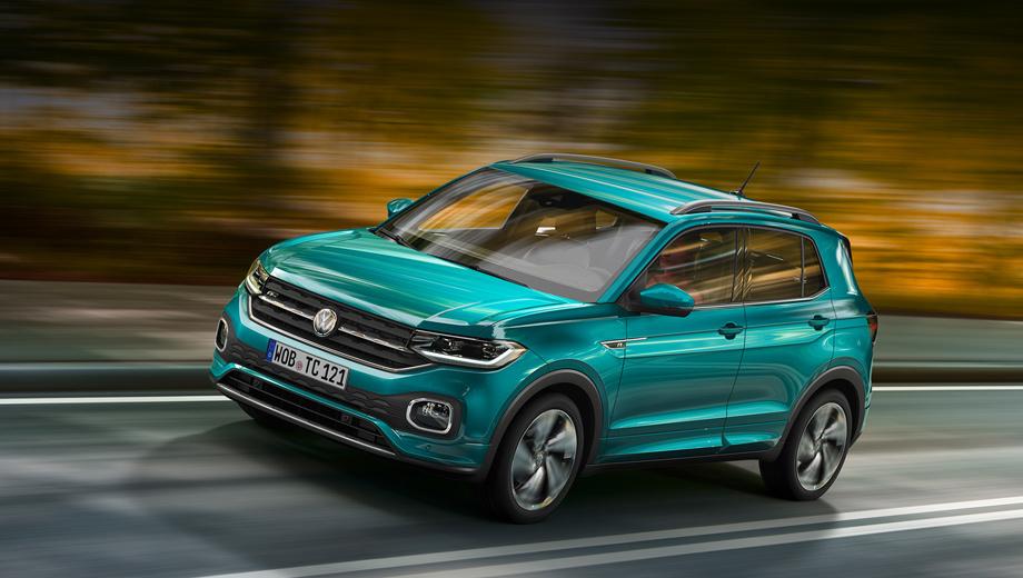 Volkswagen t-cross. При колёсной базе в 2563 мм паркетник насчитывает в длину 4107 мм. Основанный на поперечной «матрице» MQB, T-Cross длиннее хэтча Polo всего на 54 мм, но при этом на 127 мм короче кроссовера T-Roc.
