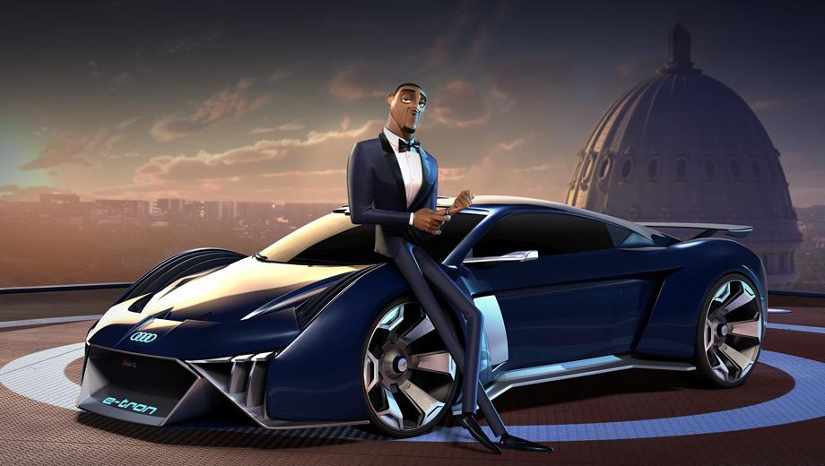 Audi rsq e-tron. Машину для Уилла Смита компания уже делала, причём это тоже был беспилотник и назывался он так же: суперкар Audi RSQ снялся в фантастическом фильме «Я, робот» 2004 года.