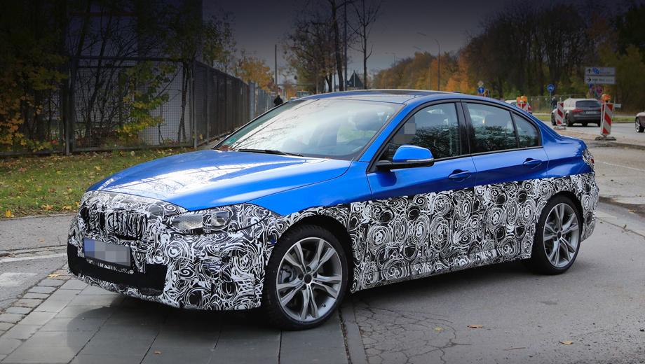 Bmw 1. Прототип был замечен неподалёку от технического центра BMW в Мюнхене. Лёгким камуфляжем прикрыто то, что изменится: решётка, бамперы, пороги, начинка фар и фонарей.