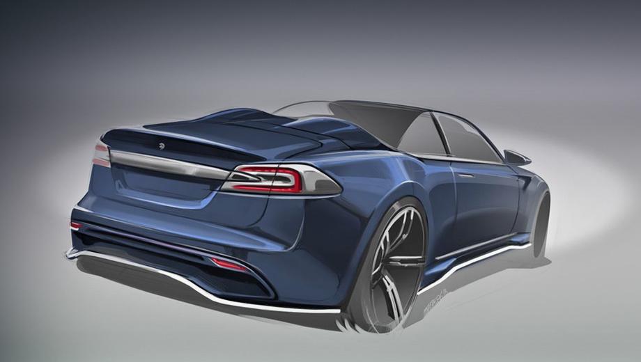 Tesla model s. Насколько серьёзны намерения? Ares Design обещает «вложить все свои знания о вселенной электрических машин, чтобы разработать эту захватывающую версию».