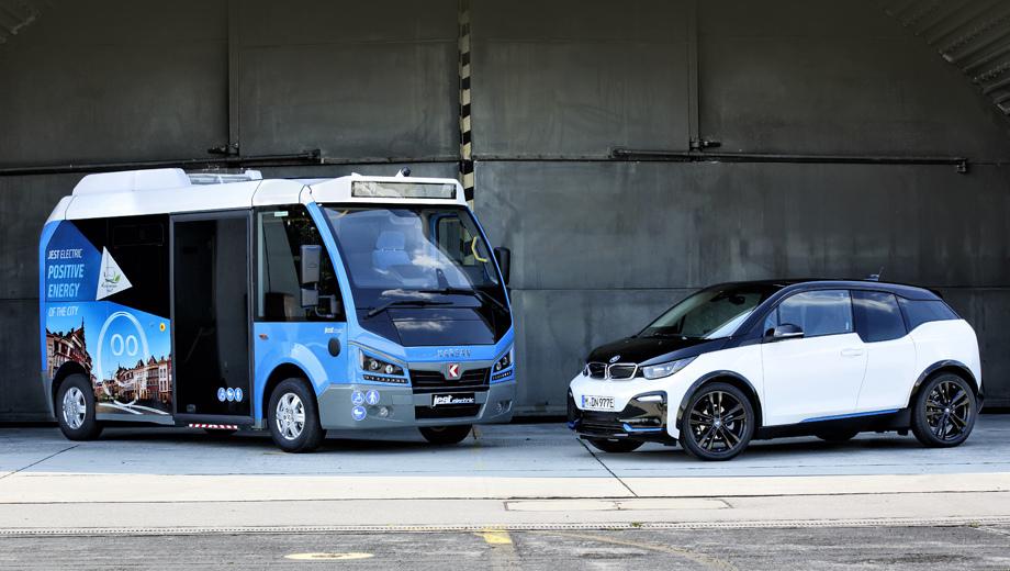Bmw i3. Фирмы BMW и Karsan подписали соглашение о поставке немецких батарей и электромоторов для городского электробуса. Он производится в Бурсе. Адресован шаттл турецкому рынку, но пойдёт и на экспорт.