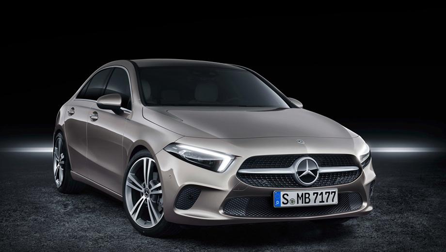 Mercedes a,Mercedes a sedan. Все версии седана комплектуются семиступенчатым «роботом» 7G-DCT. С нуля до сотни автомобиль разгоняется за 8,1 с, максималка равна 230 км/ч, средний расход топлива — 5,2–5,4 л/100 км.