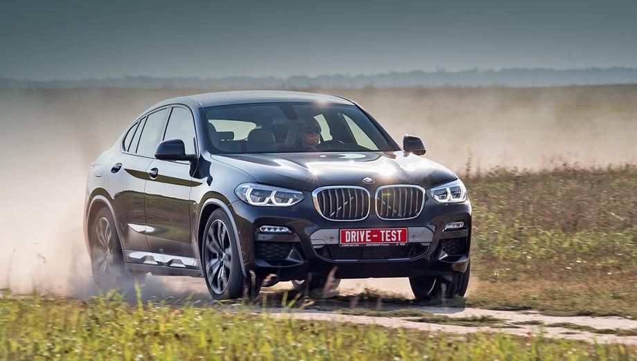 Bmw x4. Всё как бы начинается с 3 420 000 рублей за 184-сильную бензиновую версию xDrive20i. Но в ритейле она на 150 тысяч дешевле. За 3,2 млн найдётся дизельный X4. Наш — от 3,6 млн. Есть пара шестицилиндровых модификаций на солярке, а на вершине — X4 M40i минимум за пять миллионов.