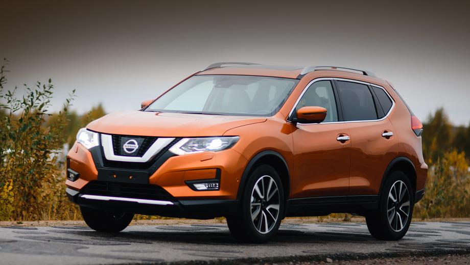 Nissan x-trail. «В базе» идёт бензиновый атмосферник 2.0 (144 л.с., 200 Н•м) с шестиступенчатой «механикой». Турбодизель 1.6 (130 л.с., 320 Н•м) с той же коробкой обойдётся минимум в 1 890 000 рублей. Второй мотор на бензине, 2.5 (171 л.с., 233 Н•м), вместе с вариатором просит от 1 930 000.