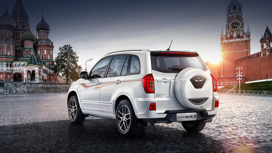 Chery tiggo 3. Компакт с февраля 2017 года предлагается у нас с передним приводом, бензиновым атмосферником 1.6 (126 л.с., 160 Н•м), шестиступенчатой «механикой» и вариатором. Цены — от 859 900 до 969 900 рублей.