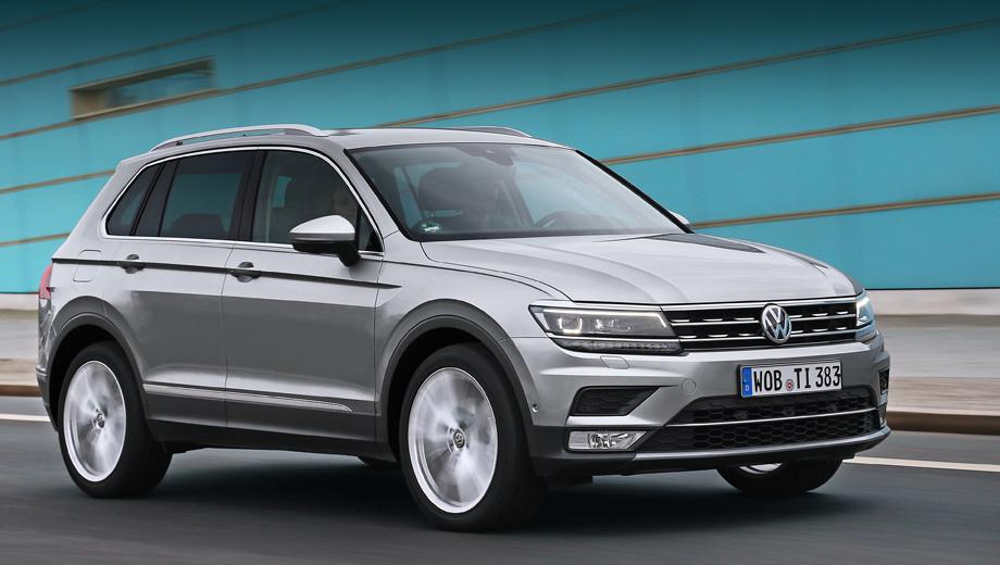 Volkswagen tiguan. Двухлитровый дизель давал Тигуану 22,5% российских продаж (по состоянию на сентябрь этого года), но он не был самым популярным мотором. Им является бензиновый агрегат 1.4 на 150 «лошадок», который покупатели выбирали едва ли не вдвое чаще.