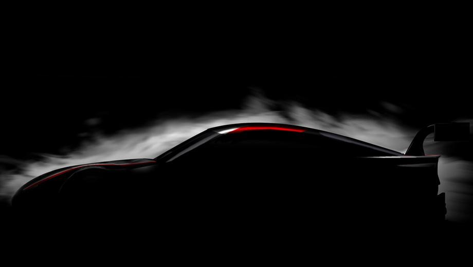 Toyota supra. Аппарат GR Supra Super GT Concept, как намекает его имя, является предвестником Супры для кузовного чемпионата Super GT. В нём участвуют автомобили, почти не имеющие общих компонентов с дорожными прообразами (силуэт-прототипы).