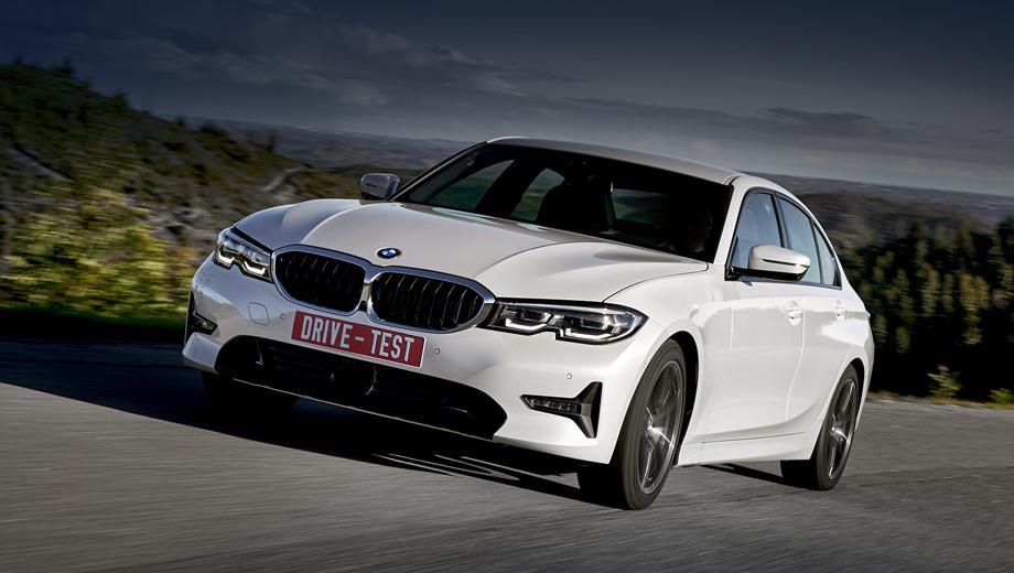 Bmw 3. В марте первые покупатели получат автомобили версий 320d (от 2,58 млн рублей), 320d xDrive (на 140 тысяч дороже) либо 330i (минимум 2,87 млн). Полностью укомплектованный BMW 330i обойдётся примерно в 5,2 млн рублей.