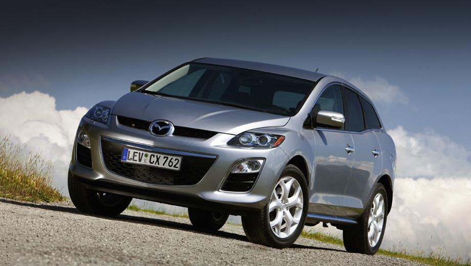 Mazda 2,Mazda 6,Mazda bt-50,Mazda cx-5. Выпуск кроссовера Mazda CX-7 был прекращён шесть лет назад, но «семёрка» может вернуться в строй, когда заработает новый завод в США.