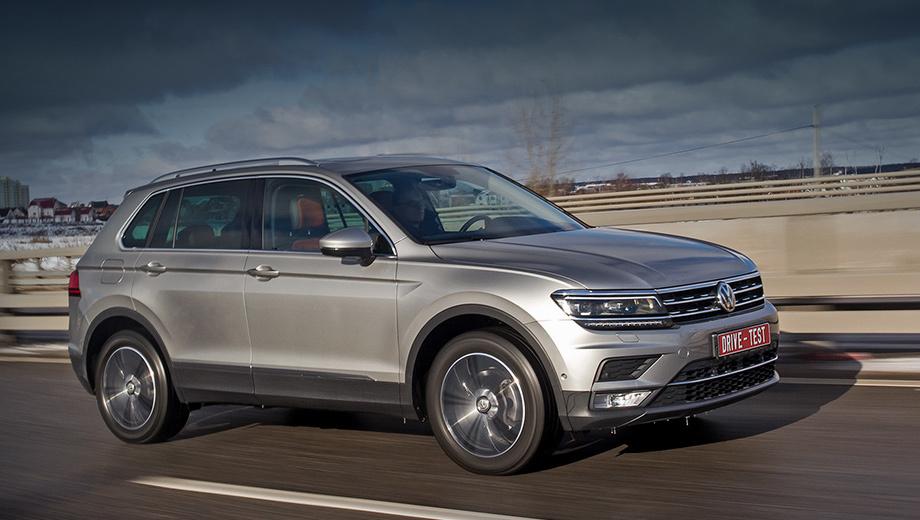 Volkswagen tiguan. «Второй» Tiguan на нашей памяти раньше не отзывался. Но недавно были прекращены продажи дизельных версий ради «оптимизации производственных процессов».