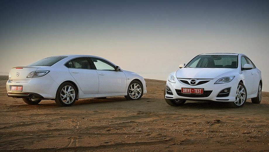 Mazda 6. На рестайлинг вся надежда: в 2009 году продажи «шестёрки» упали до 8583 автомобилей (против 17 569 в 2008-м).